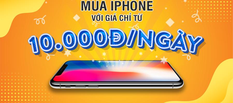 Mua iPhone với giá 10.000đ